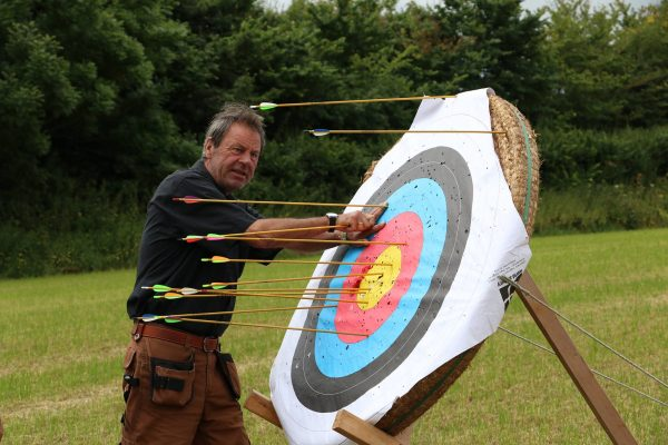 Archery activities and tutiton in Somerset