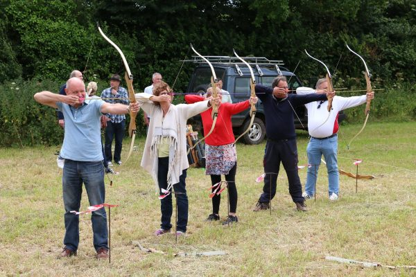 Outdoor shooting and archery parties and weddings