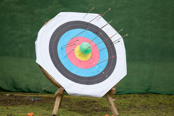 Archery Shooting at target