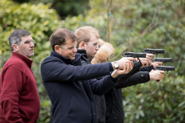 CO2 Pistol Shooting in Somerset