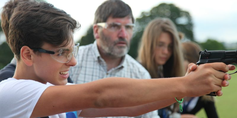 Pistol Shooting Activities and tuition in Somerset